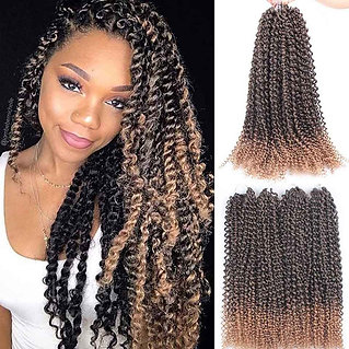 Crochet Braid Extensions Synthetic  Braids Spring Braiding Hair for Fluffy