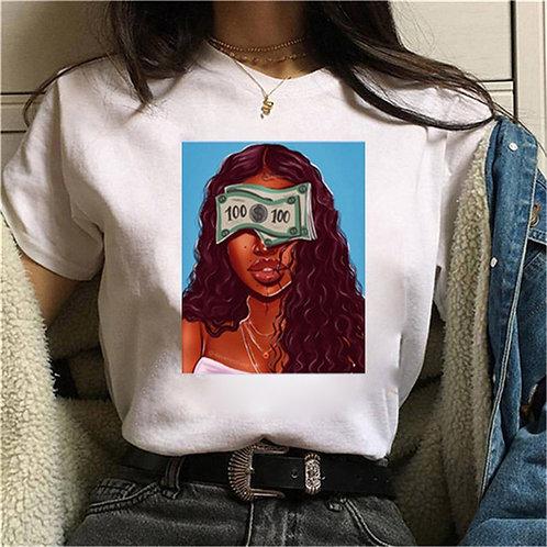 Women T Shirt Female Short Sleeve Oversized T Shirt Casual Loose Graphic  Femme