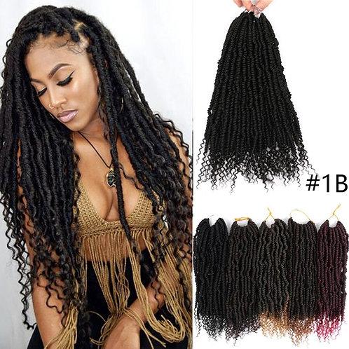 "12"" Bomb Twist Crochet Hair 24Strands Passion Twists Braiding for Black Women"