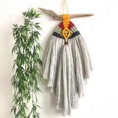Macramé ethnique et inca