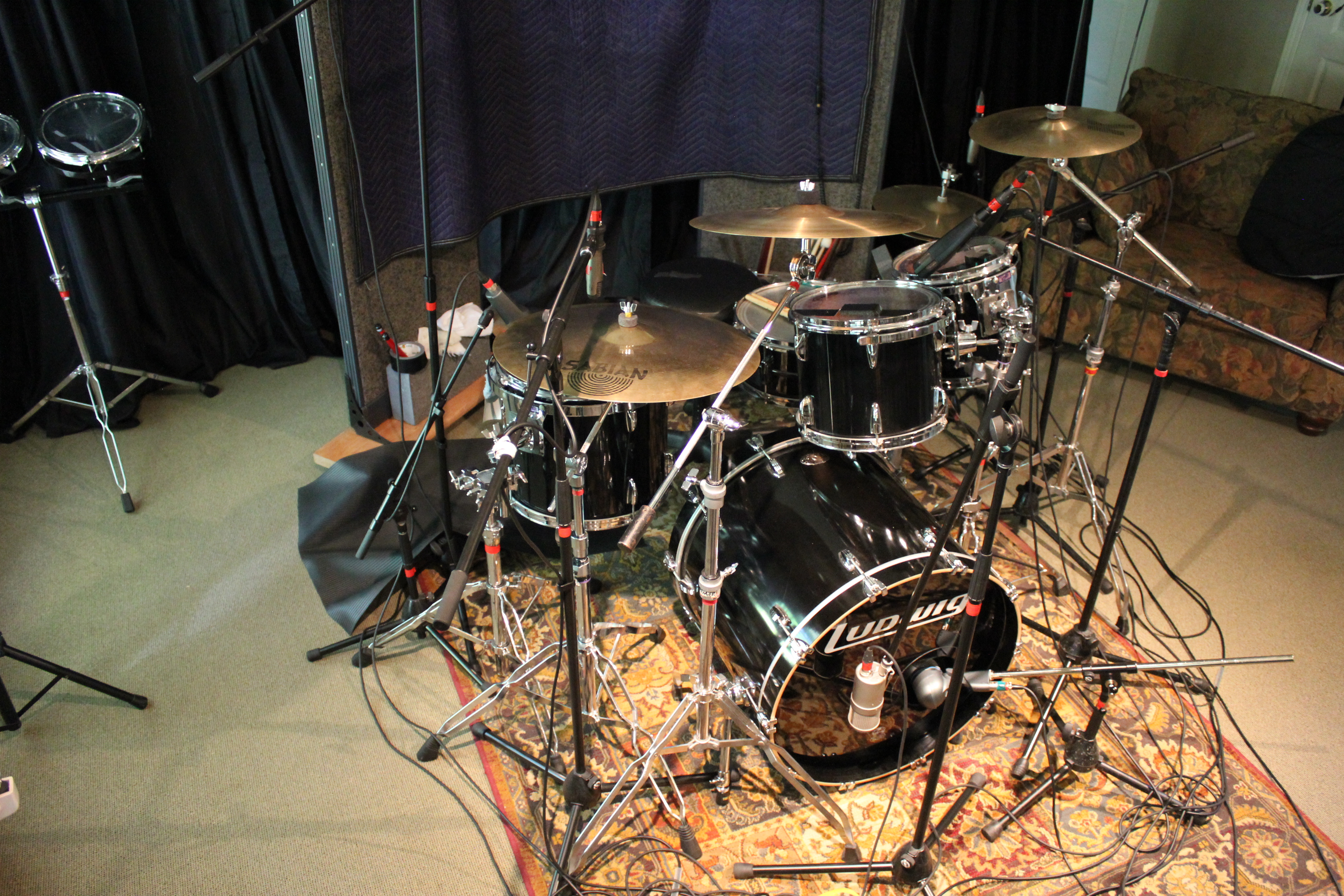 Tracking acoustic drums