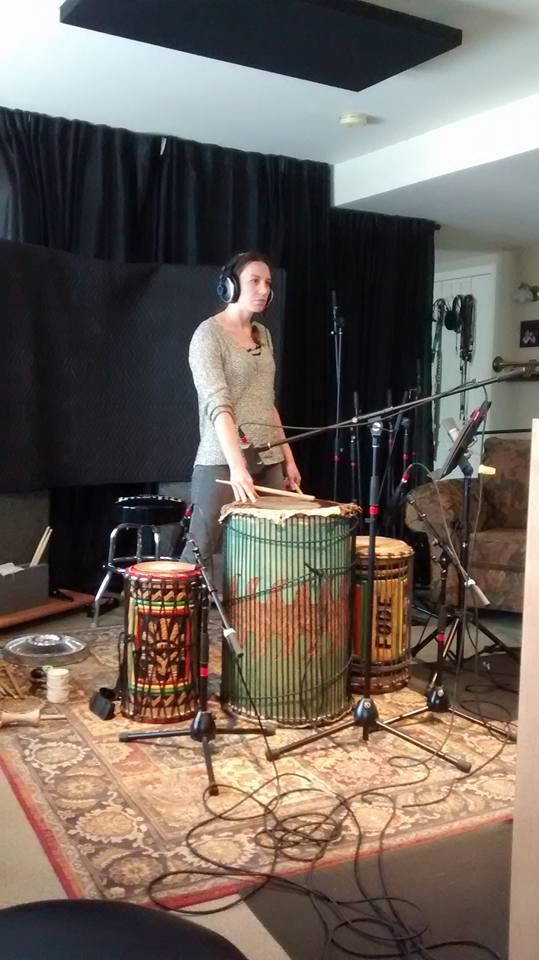 Marie-Anik Châteauneuf - Percussions