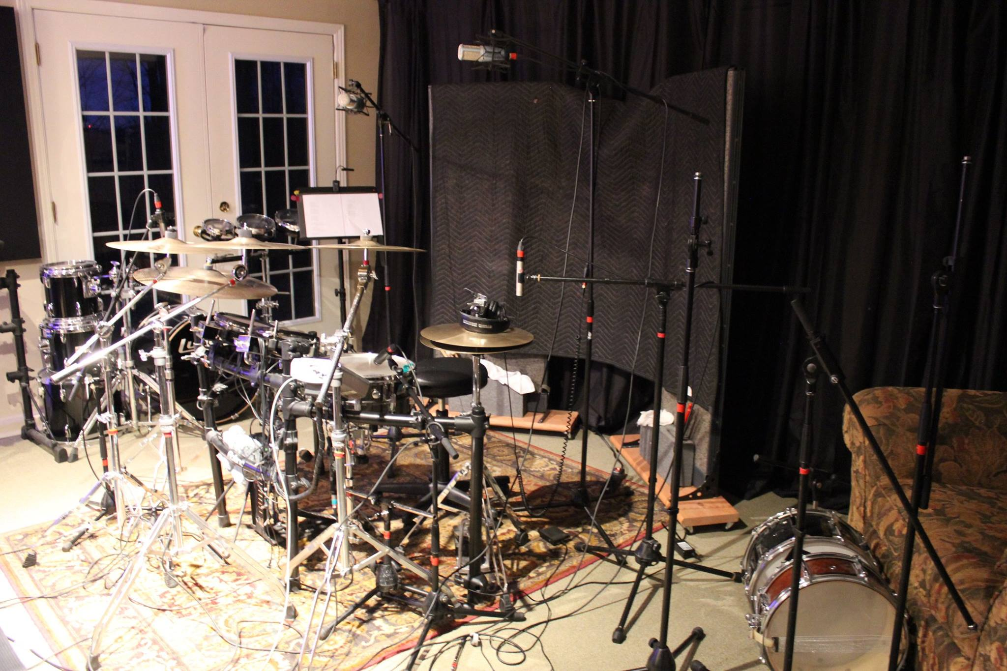 Cardiac-drums set-up