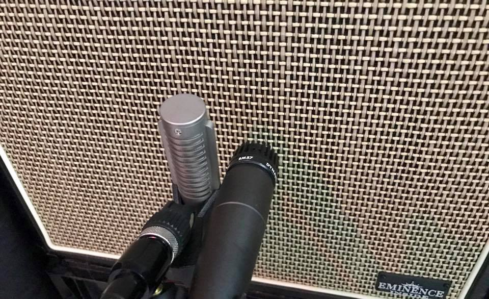 Royer 121+Shure SM57