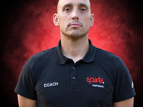 Wulff new Headcoach of Sparta Senior Team