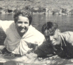 Stella Hill and Percy Hunt