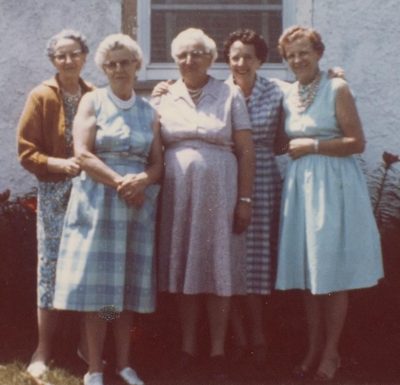 Leona, Verna, Stella, Vesta, Mildred