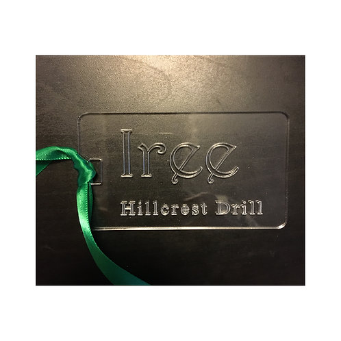 Personalized Acrylic Name / ID Tag