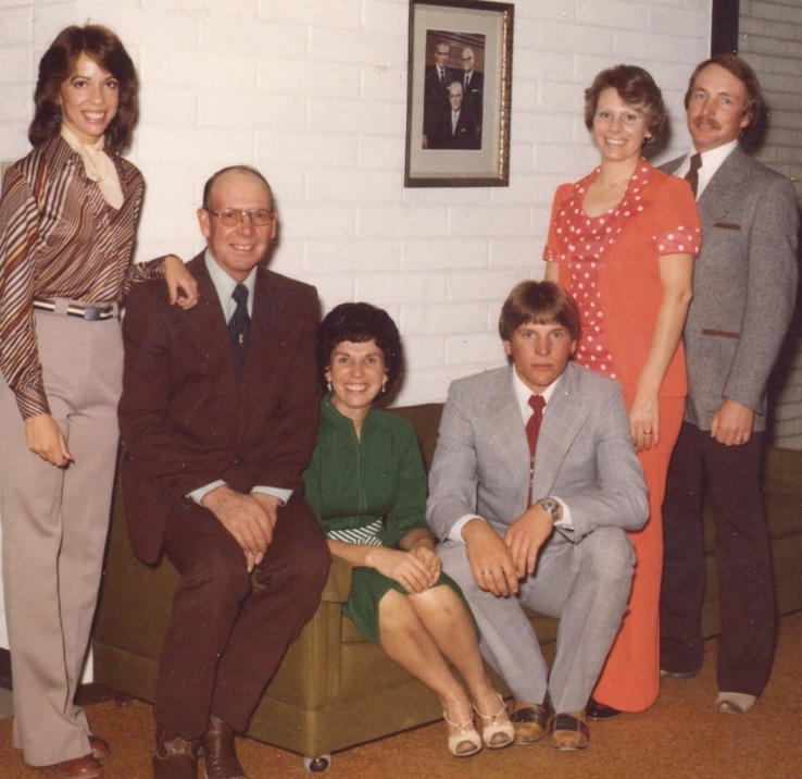 Toni, Boud, Mildred, Jim, Connie, Jack