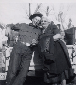 Stella with brother, Dean Hill