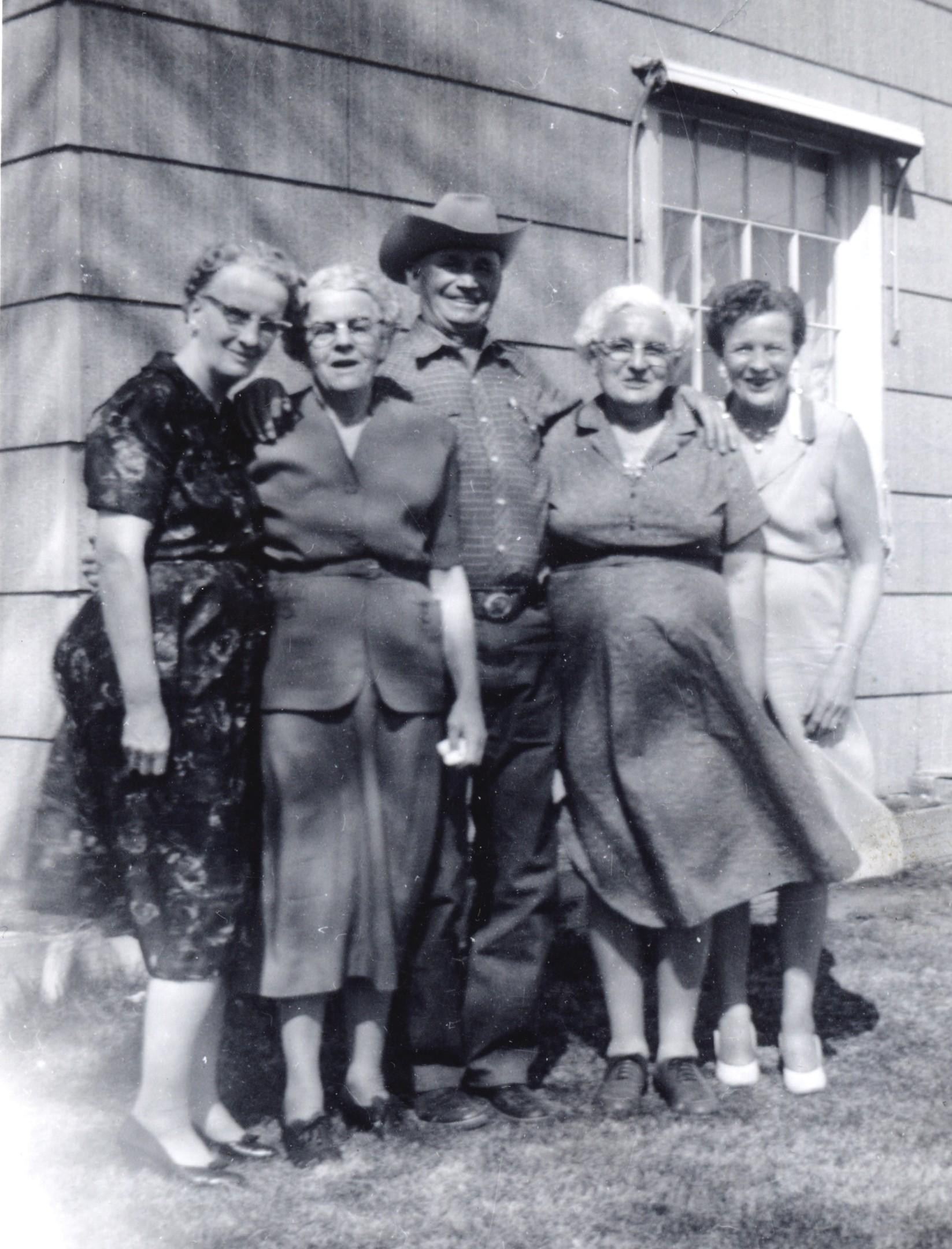 Leona, Verna, Purcell, Stella, Mildred