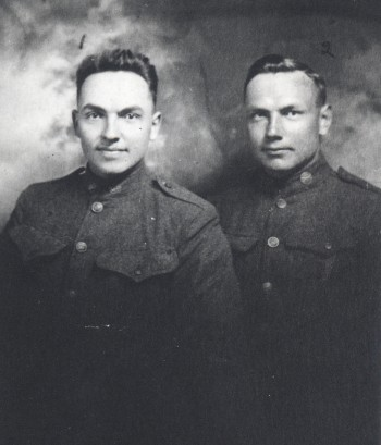 Percy's brothers, Ray & Guy