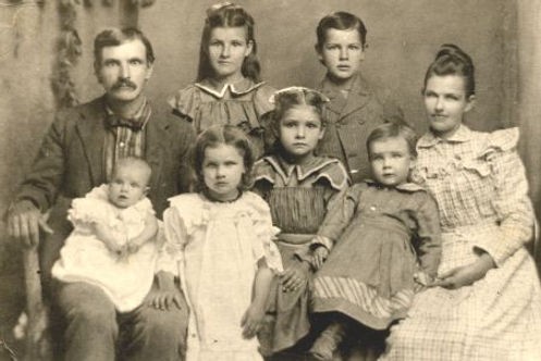 Jonathan Hyrum Daniel Cox and Louisa Isabelle Price family
