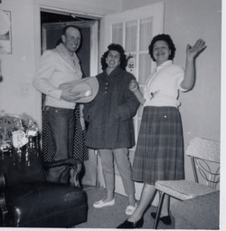 Boyd, Mildred, and Bea