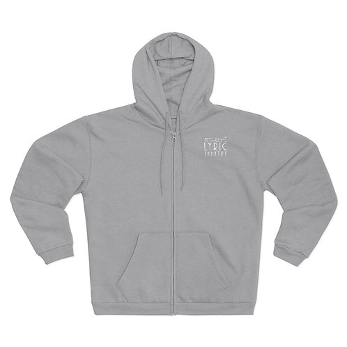 Unisex Hooded Zip Sweatshirt