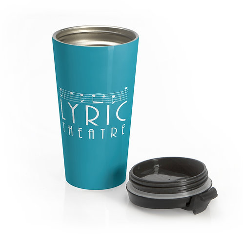 Stainless Steel Travel Mug - Aqua