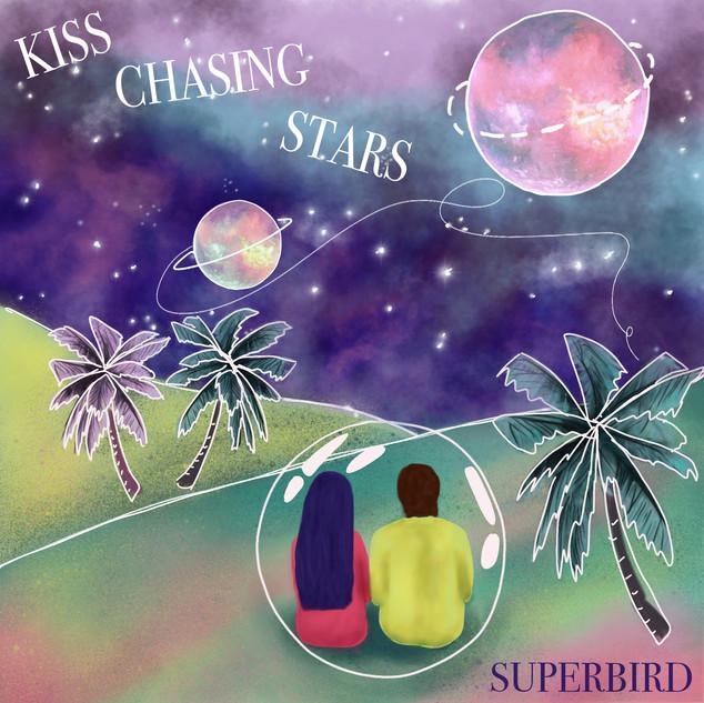 Kiss chasing stars