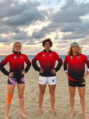 Plaj ragbi milli takım oyuncularımız yeniden kampta!