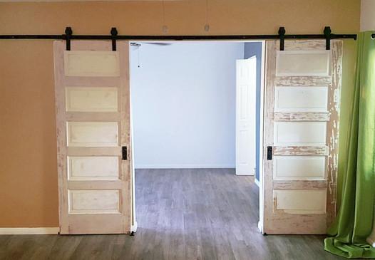 Repurposed Barn Doors