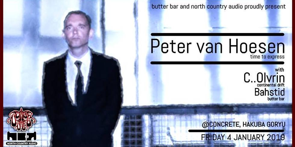 North Country & Butter Bar present Peter van Hoesen