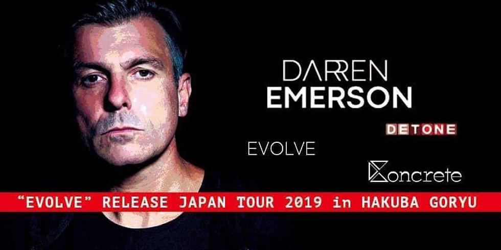 """Darren Emerson """"evolve""""release TOUR in Hakuba GORYU"""