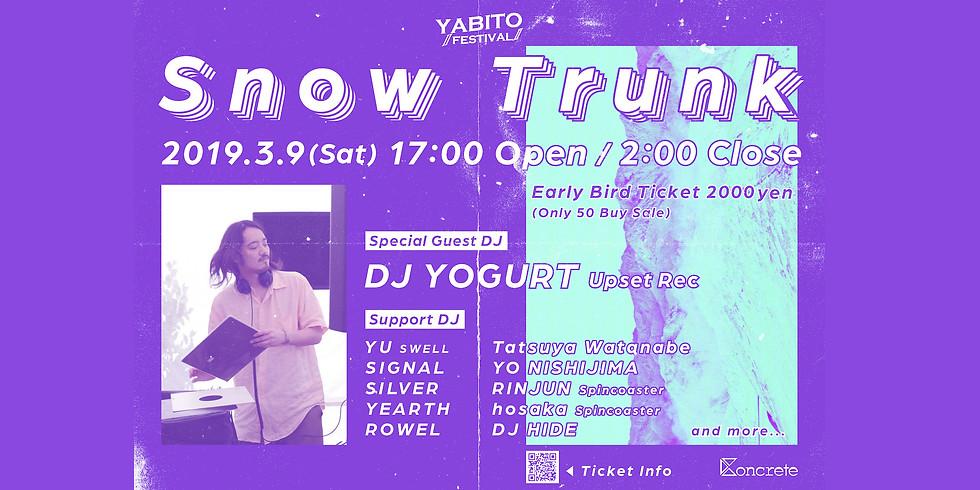 "Yabito ""Snow Trunk"" in Hakuba"