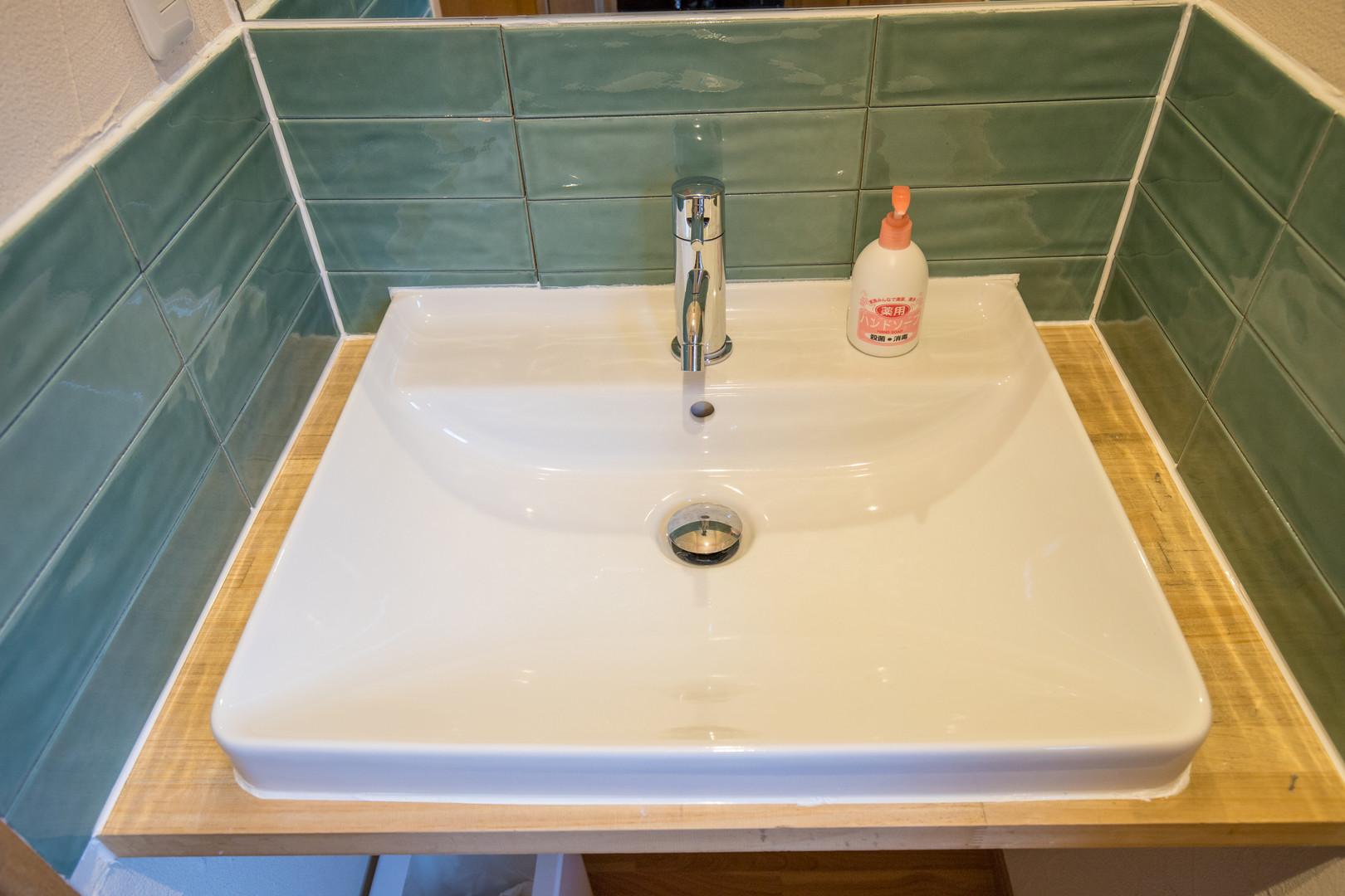 1Fの共用洗面台