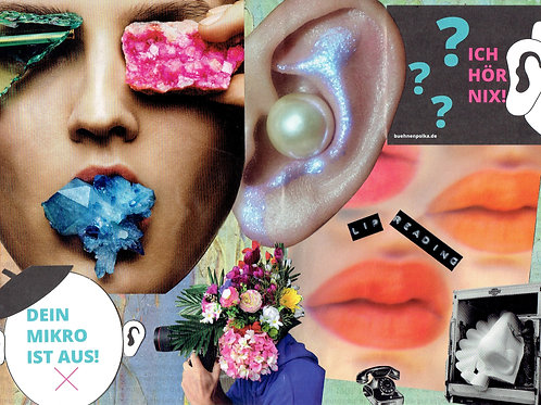Lip Reading | Collage by Andi Gießer