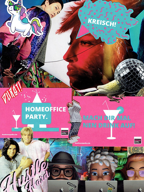 HomeOfficeParty | Collage by Andi Gießer