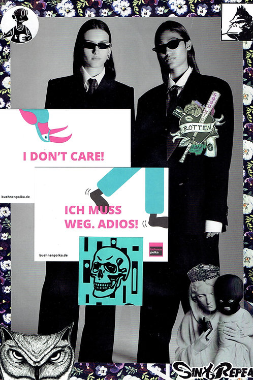 I don't care | Collage by Andi Gießer