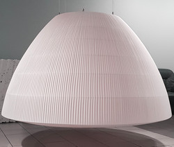lampa kopuła z plisy