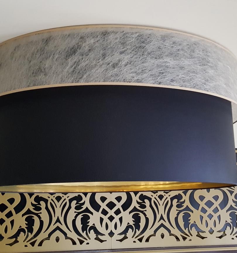 lampa z zawieszeniem do sali weselnej ww