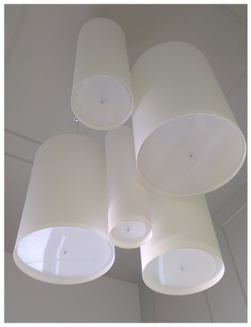 duże lampy na targi