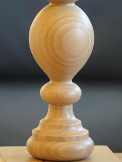 lampka drewniana surowa