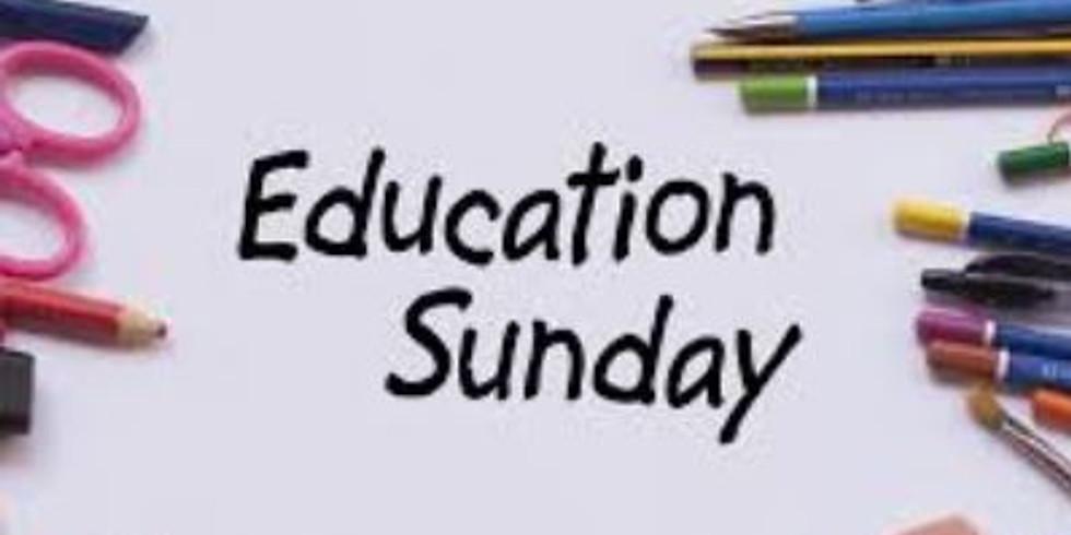 Education (Ecumenical) Sunday