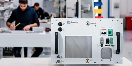 Enapter Electrolyzer in Saerbeck
