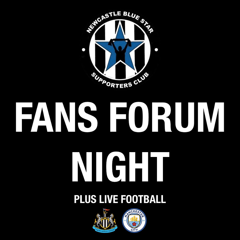 Fans Forum Night + NUFC On The Big Screen