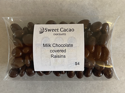 Milk Chocolates Covered Raisins