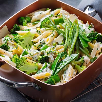 Mac´and Cheese com Brócolis