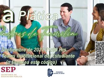 Platica con padres de familia