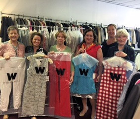 Career Dress receives a generous donation from W By Worth