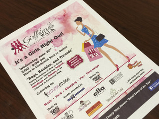 A Fun Night Out for A Good Cause; professional women's clothing donated!