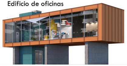 Planificación preliminar en edificios para oficinas