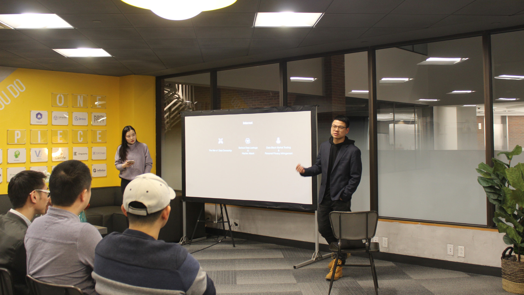 lockchain _ Data Social Night Meetup at