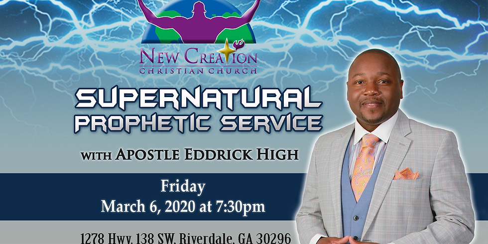 Supernatural Prophetic Service