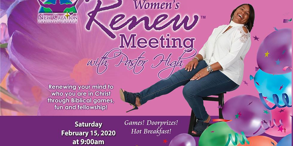 Women's Renew Meeting