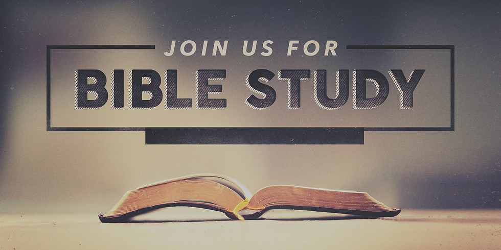 We're Open for Bible Study! - Wednesday, June 24, 2020 @ 7:30pm