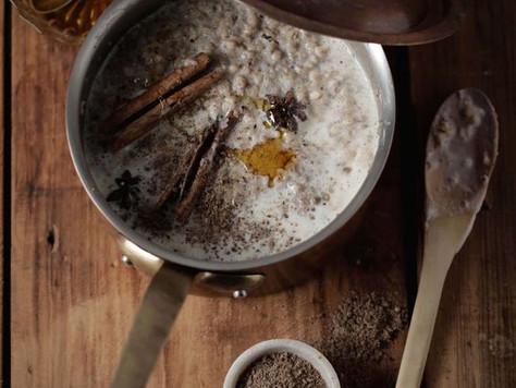 Coconut Rice porridge -Congee