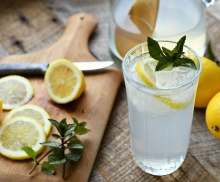 Morning Detox Lemon Water