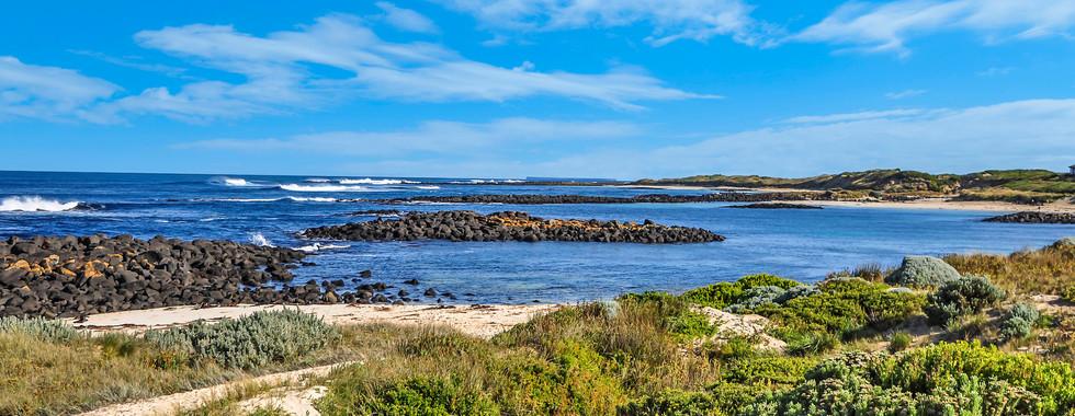 Hearn's Beachside Villa View